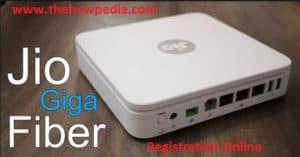 jio gigafiber online booking