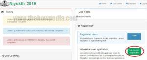 Kerala Job Fair Portal