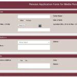 Pension Application for Media Person, Haryana
